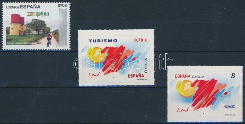 Turism 3 stamps, Turizmus 3 klf bélyeg (ebből 2 öntapadós)