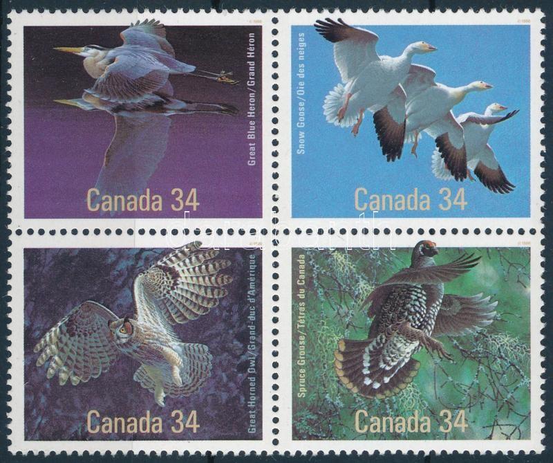 Bird block of 4, Madár négyestömb