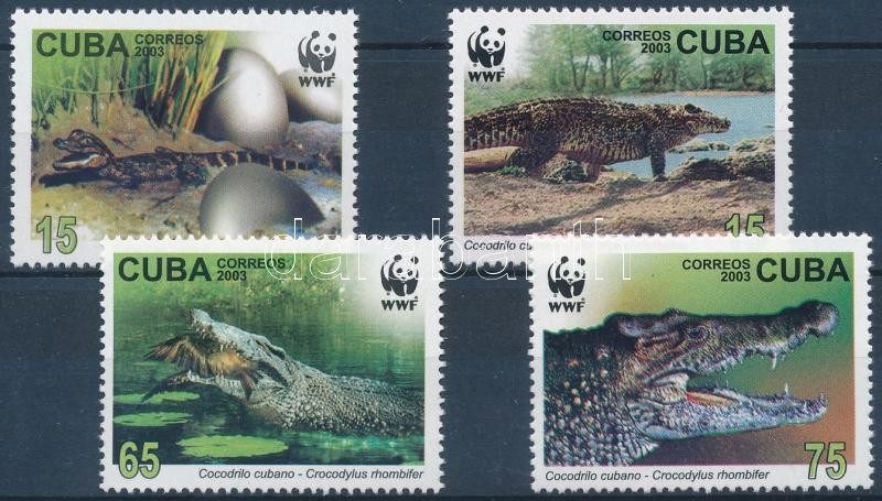 WWF: Crocodile set, WWF: Krokodil sor