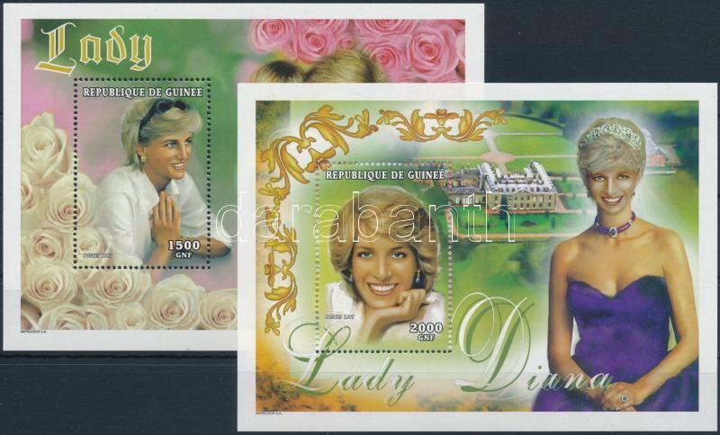 Princess Diana blockset, Diana hercegnő blokk sor