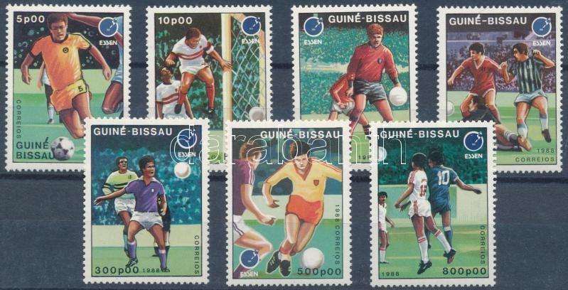 European Football Championship, Stamp Exhibition in Essen set, Labdarúgó EB, esseni bélyegvásár sor