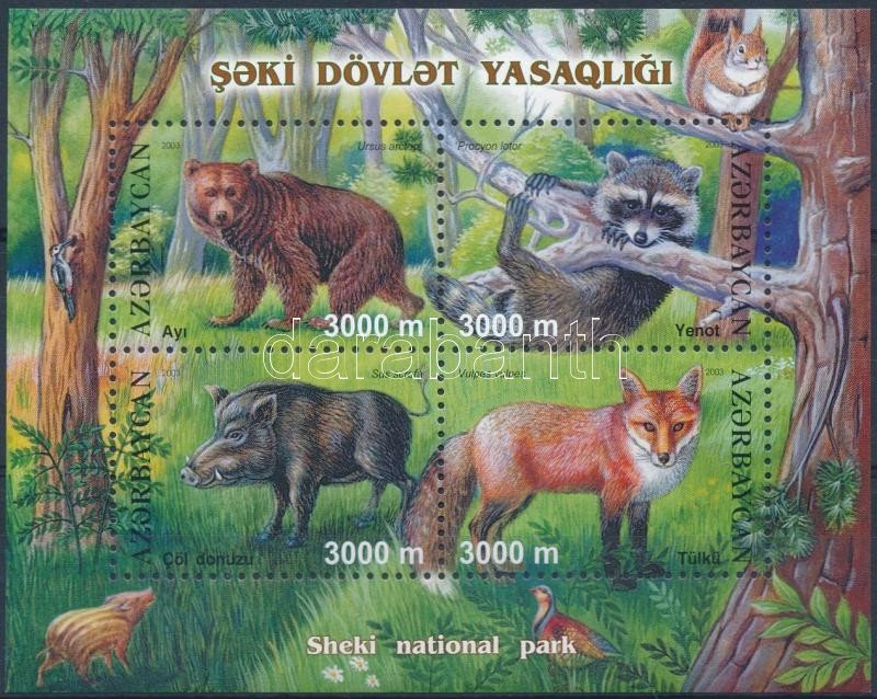 Animals block, Állatok blokk