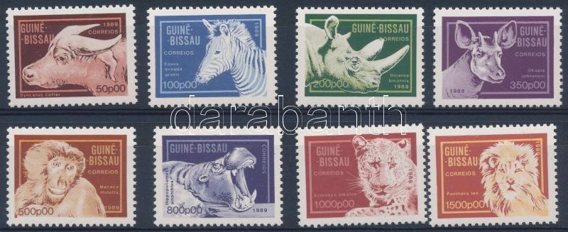 Forgalmi; Állatok sor, Definitive Animals set