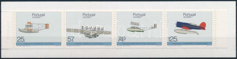Airplanes stamp booklet, Repülőgépek bélyegfüzet