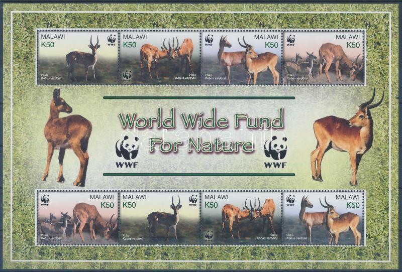 WWF Puku mini sheet, WWF: Puku kisív