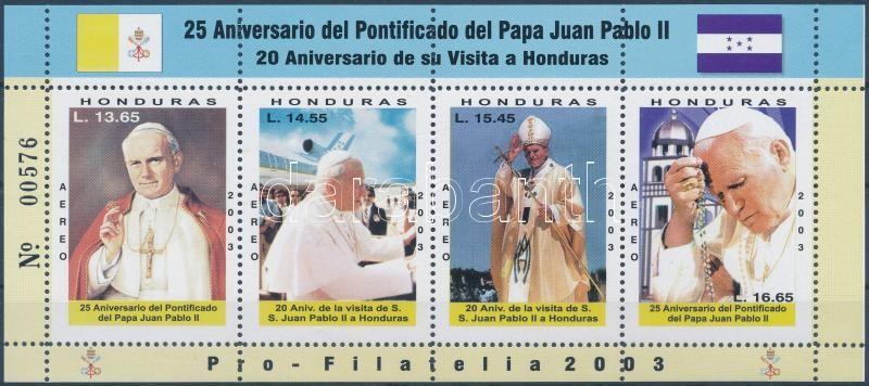 II. János Pál pápa blokk, Pope John Paul II. block