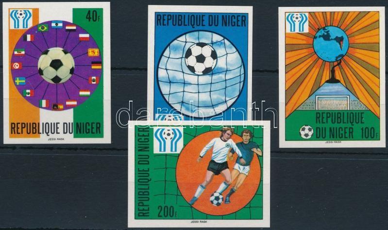 Football World Cup imperforated set, Labdarúgó világbajnokság vágott sor