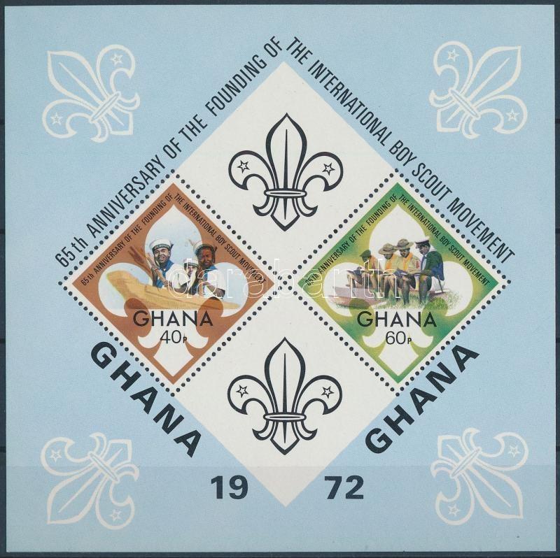 65th anniversary of Scouting block, 65 éves a cserkészet blokk