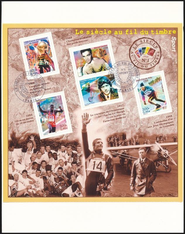 Sports Events mini sheet FDC, Sportesemények kisív FDC-n