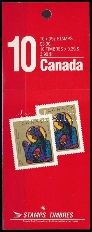 Christmas stamp -booklet, Karácsony bélyegfüzet