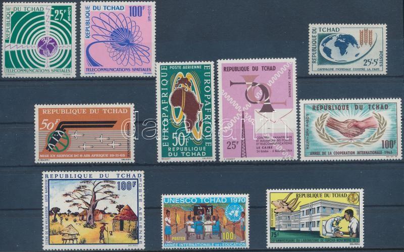 1963 - 1972 1 set + 8 values, 1963-1972 1 sor + 8 klf önálló érték