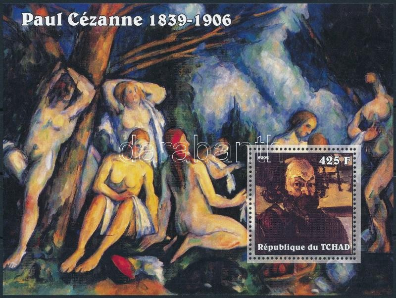 Cézanne paintings block, Cézanne: Festmény blokk