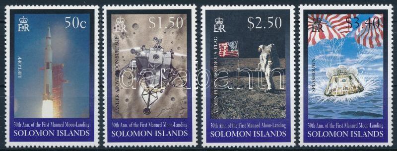 30th anniversary of First Man on the Moon set, 30 éve járt az első ember a Holdon sor