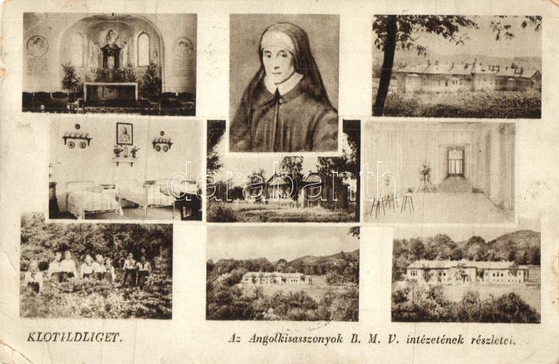 Piliscsaba, Klotildliget, Angolkisasszonyok B.M.V. intézete, belső