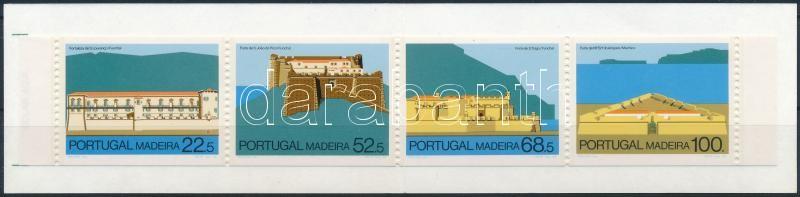 Castles stamp-booklet, Várak bélyegfüzet