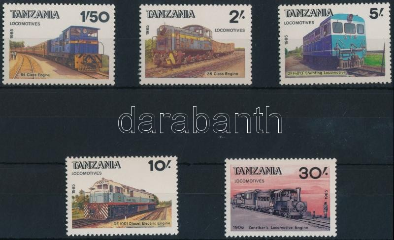 Mozdonyok sor, Locomotives set