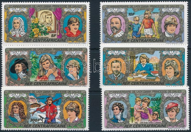 21st birthday of Princess Diana set, Diana hercegnő 21. születésnapja sor