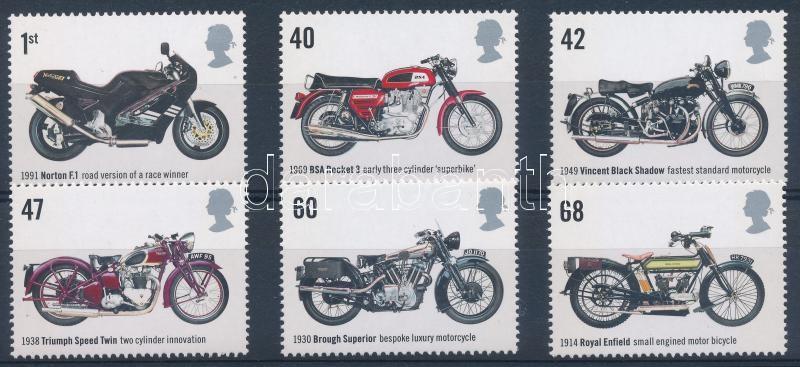 Motorcycles set, Motorkerékpárok sor