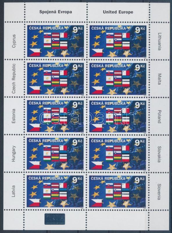 Entering the European Union mini sheet, Belépés az Európai Unióba kisív