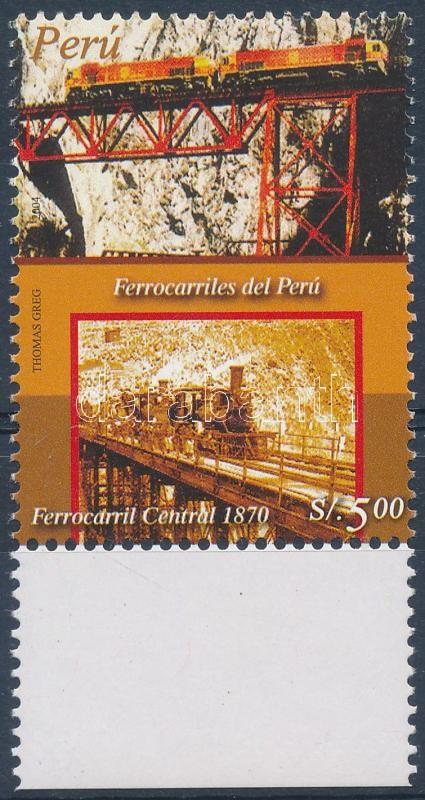 Railway margin stamp, Vasút ívszéli bélyeg