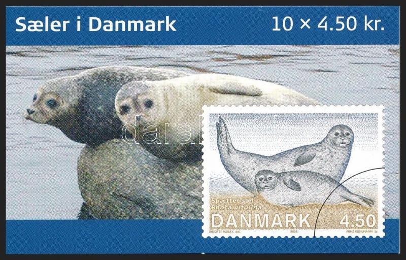 Seals stamp booklet, Fókák bélyegfüzet