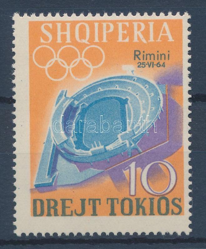 Olympics overprinted stamp, Olimpia felülnyomott bélyeg