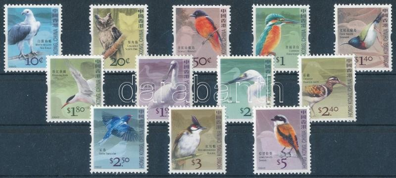 Definitive Birds set + block, Forgalmi: Madarak sor + blokk