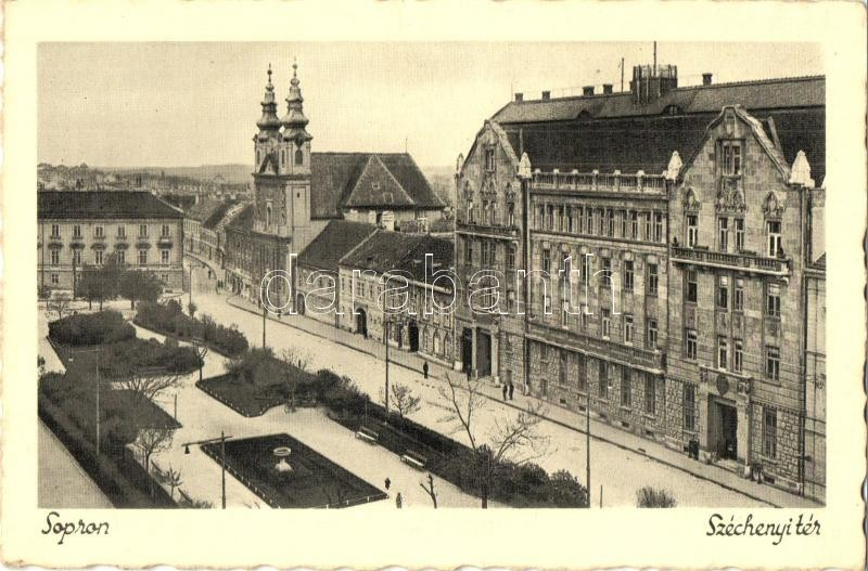 Sopron, Széchenyi tér