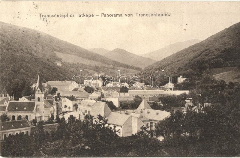Trencianske Teplice, Trencsénteplic