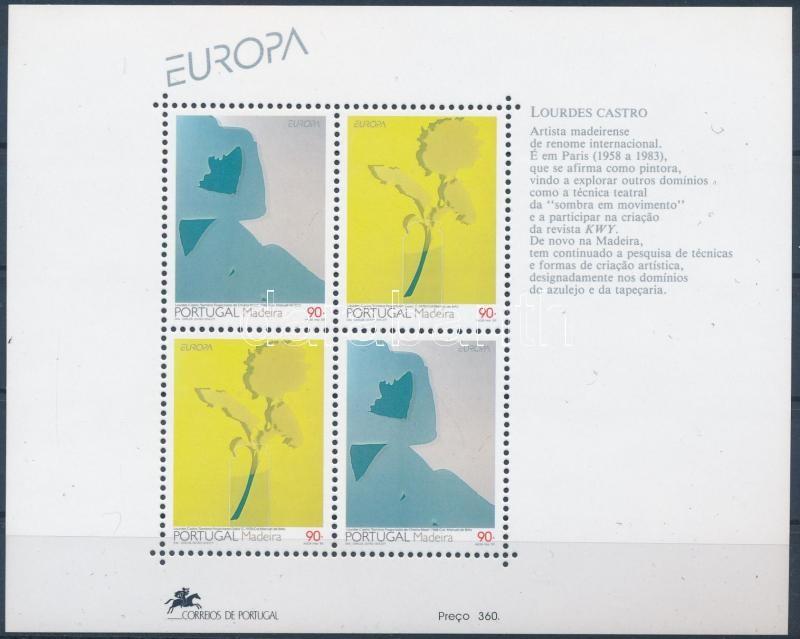 Europa CEPT, Kortárs művészet blokk, Europa CEPT, Contemporary art block