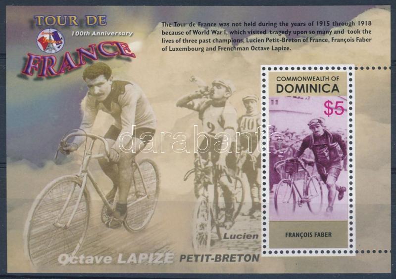 Tour de France bicycle racing block, Tour de France kerékpárverseny blokk