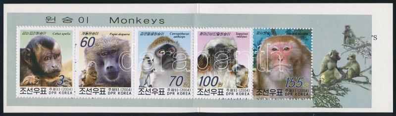 Monkies stamp-booklet, Majmok bélyegfüzet