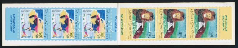 Europe CEPT: Children's drawing stamp booklet, Europa CEPT: Gyermekrajz bélyegfüzet