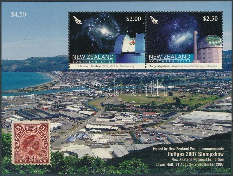 International Stamp Exhibition,  HUTTPEX, Lower Hutt block, Nemzetközi bélyegkiállítás HUTTPEX, Lower Hutt blokk