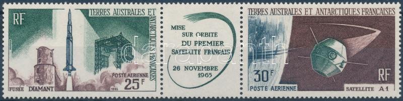 First french satellite stripe of 3, Első francia műhold hármascsík