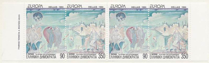 Europa CEPT, Contemporary art stamp-booklet, Europa CEPT, Kortárs művészet bélyegfüzet