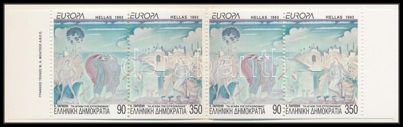 Europa CEPT stamp-booklet, Europa CEPT, Kortárs művészet bélyegfüzet