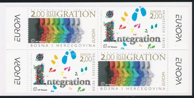 Europe CEPT stamp booklet, Europa CEPT bélyegfüzet