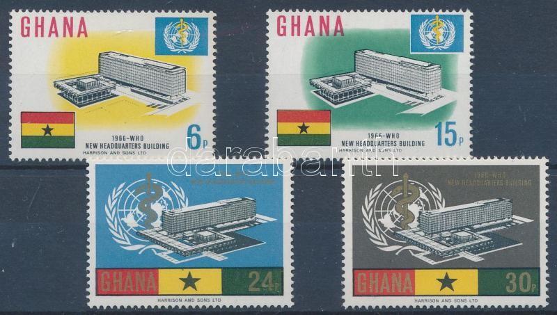 WHO building set, WHO - az Egészségügyi Világszervezet új hivatalának megnyitása Genfben sor