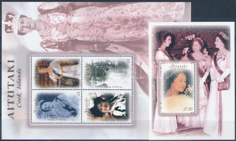 Queen Elizabeth minisheet + block, Erzsébet királynő kisív + blokk
