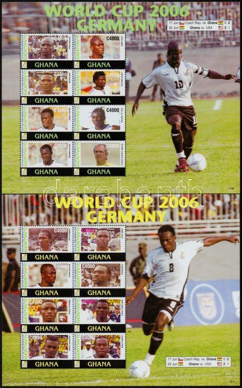 Football World Cup mini sheet pair, Labdarúgó VB kisívpár