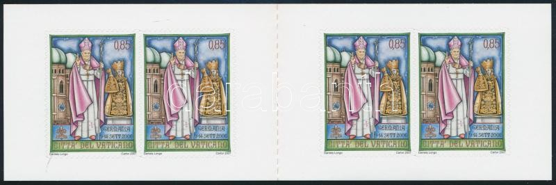 XVI. Benedek pápa utazásai öntapadós bélyegfüzet, Pope Benedict XVI. self-adhesive stamp-booklet