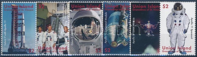 Space Research, First Man on the Moon set, 50 éves az űrkutatás, 40 éve járt az első ember a Holdon sor