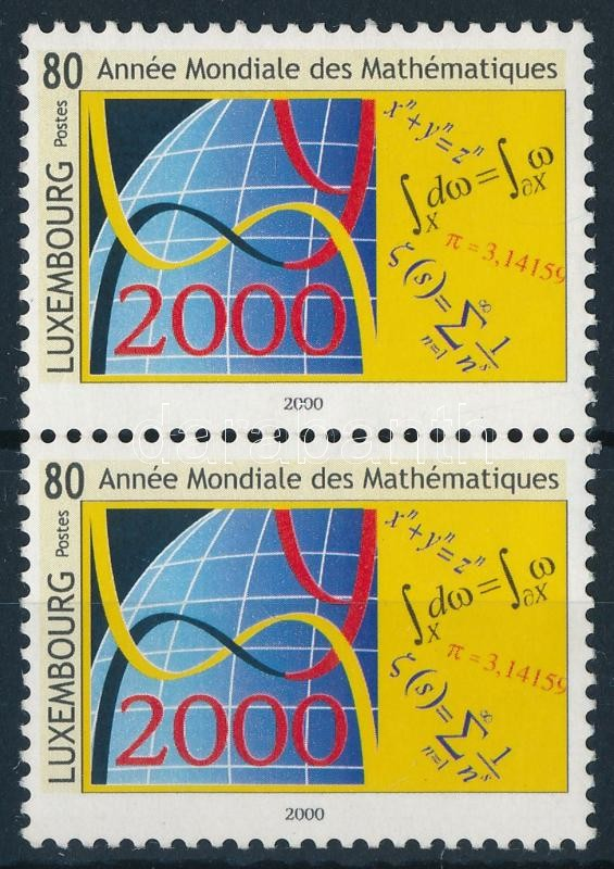 A matematika éve pár, The year of maths pair