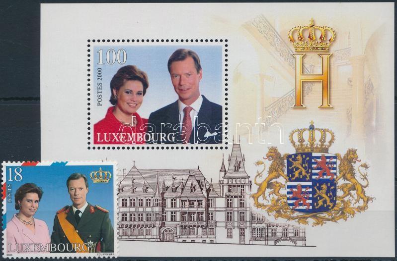 Royal family + block, Királyi család + blokk