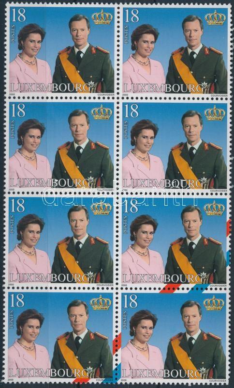 Royal family block of 8, Királyi család 8-as tömb