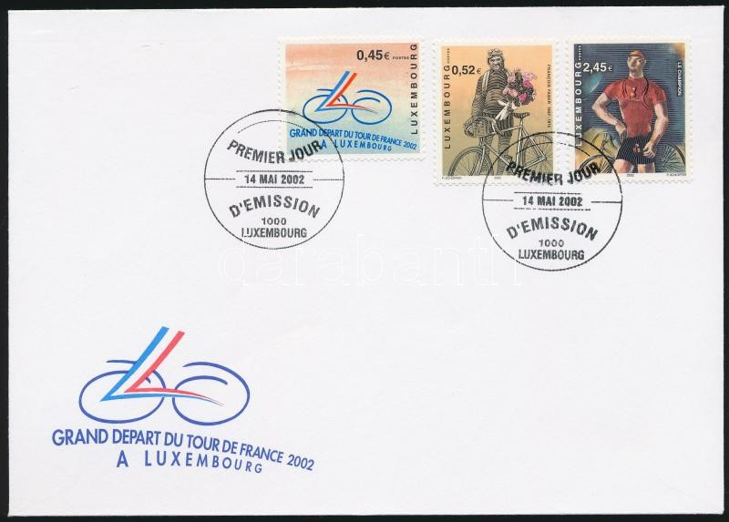 Tour de France set FDC, Tour de France sor FDC-n