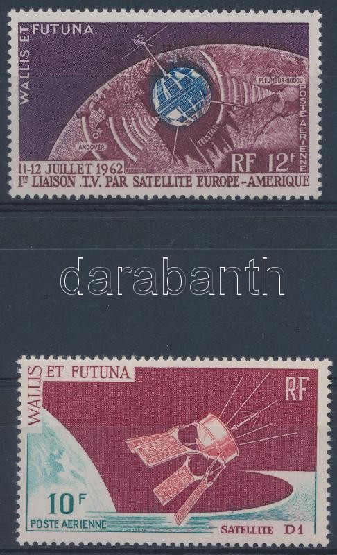1962-1966 2 klf űrkutatás bélyeg, 1962-1966 2 Space Research stamps