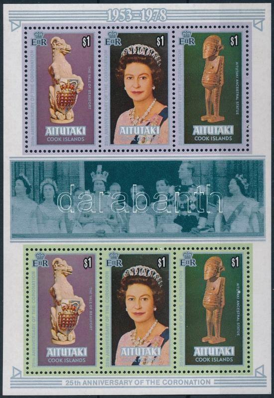 Queen Elisabeth II  block, II. Erzsébet királynő blokk