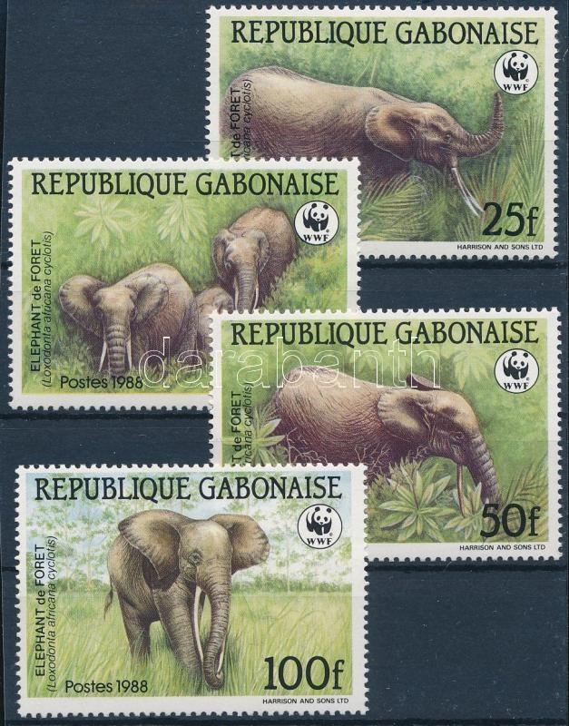 WWF: Forest elephant set, WWF: Erdei elefánt sor